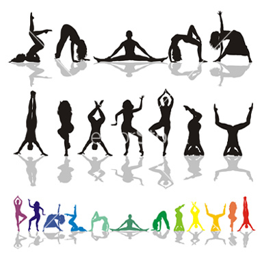 yoga-and-fitness-woman-vector-102908