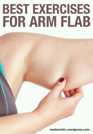 how to lose arm flab