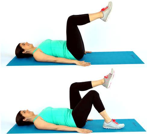 Abdominal muscles after pregnancy health fitness for Floor exercises for abs